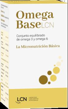 Omega BaseLCN - Complemento nutricional a base de ácidos grasos omega 3 y omega 6